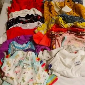 23 Pieces 3-6 Months Baby Clothes
